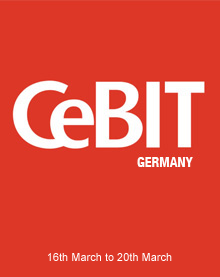 CeBIT, Hannover, Germany 16. March – 20. March 2015