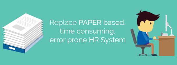Paylite - Replace paper based error prone HR System