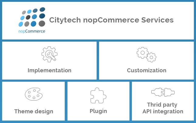 NopCommerce plugins, NopCommerce customization, NopCommerce theme design, and NopCommerce implementation.