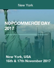 nopCommerce day  2017