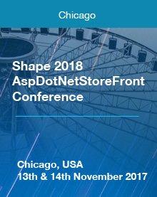 Shape 2018  AspDotNetStoreFront  Conference