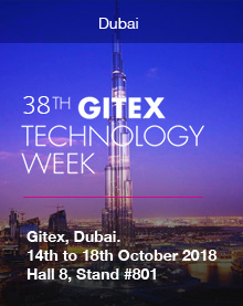 GITEX, Dubai. 14th to 18th October 2018