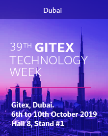 GITEX, Dubai. 6th to 10th October 2019