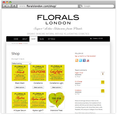 eCommerce_florals_london