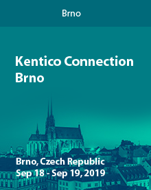 Kentico Connection Brno